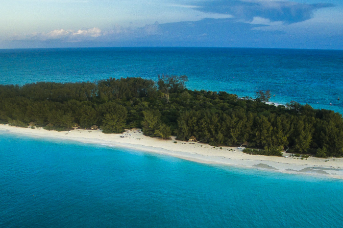 Mnemba Island a tropical paradise